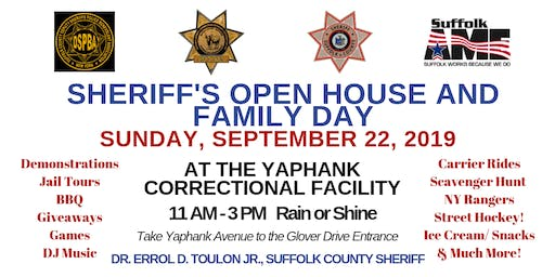 Sheriff's Open House and Family Day