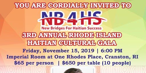NB4HS 3rd Annual Haitian Cultural Gala