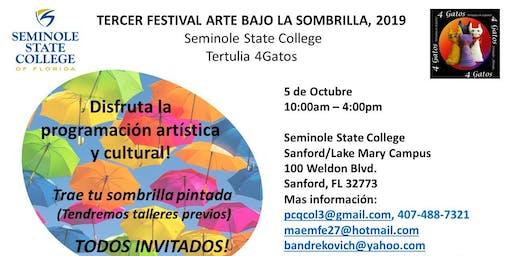 Festival de Arte: Pinta tu sombrilla