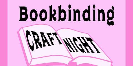 Perdita Craft Night: Hardcover Bookbinding tickets