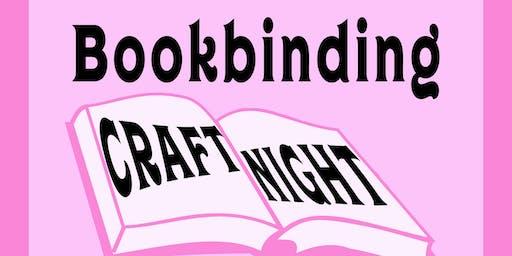 Perdita Craft Night: Hardcover Bookbinding