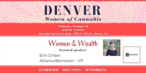 Denver Women of Cannabis - November Networking Event