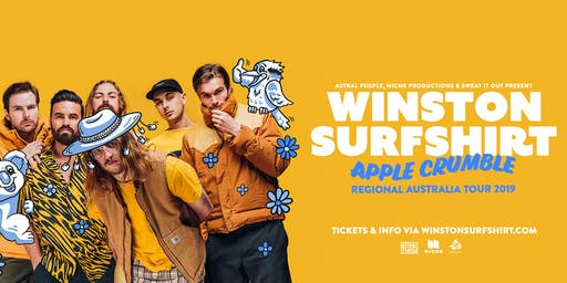 Winston Surfshirt Apple Crumble Regional AUS tour