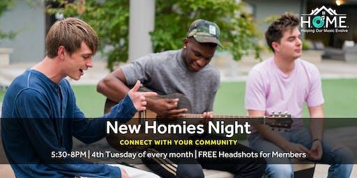 New Homies Night