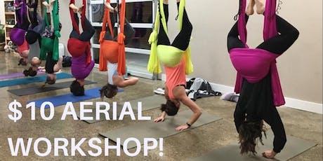 Aerial Yoga Workshop tickets