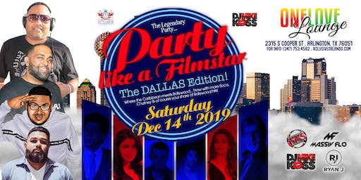 """Party Like a FIlmstar """"The Dallas Edition"""""""