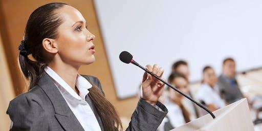 Public Speaking Workshop