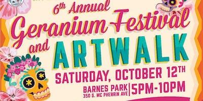 Geranium Festival and ArtWalk