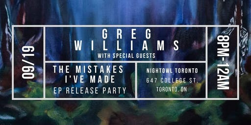 Greg Williams EP Release Party