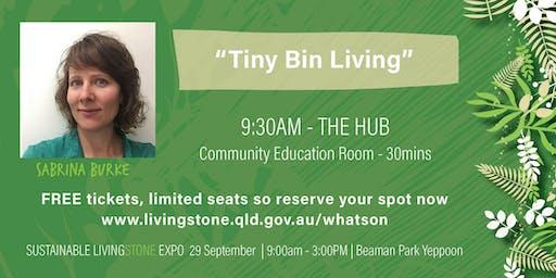 Sabrina Burke - Tiny Bin Living