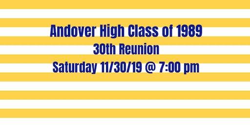 AHS Class of 1989 reunion