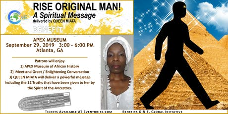 RISE ORIGINAL MAN!  A Spiritual Message (ATLANTA) tickets
