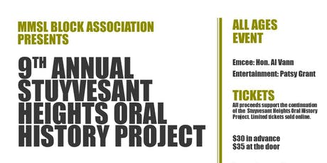 9th Annual Oral History Project tickets
