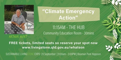 Arthur Hunt - Climate Emergency Action tickets