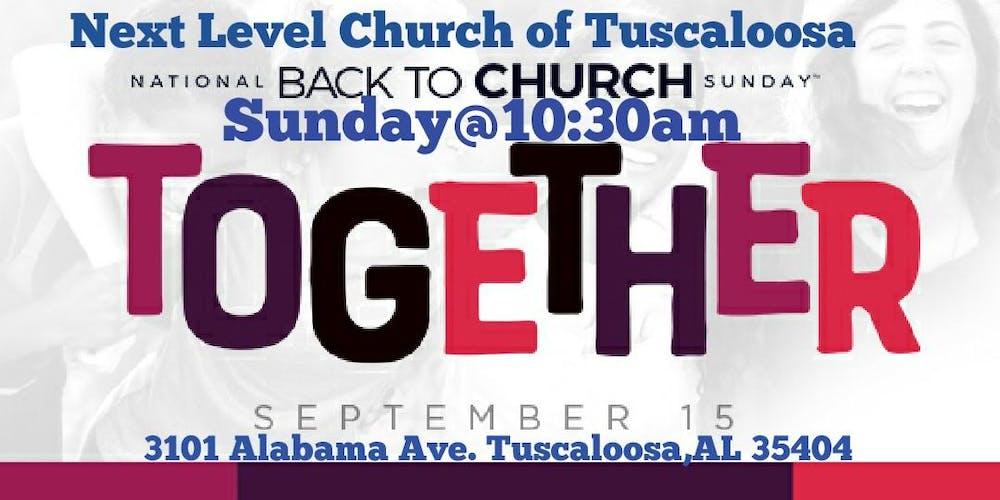 Back 2 Church Sunday Tickets, Sun, Sep 15, 2019 at 10:30 AM