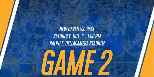 GAME 2: New Haven Football vs. Pace (Game Tickets & Preferred Parking)