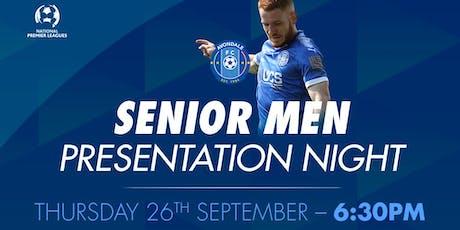 Senior Men's Presentation Night tickets