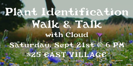 Plant Identification Walk & Talk : EAST VILLAGE tickets