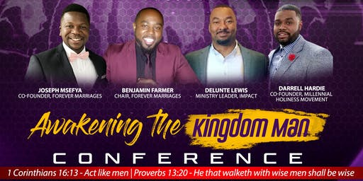 Awakening the Kingdom Man Conference