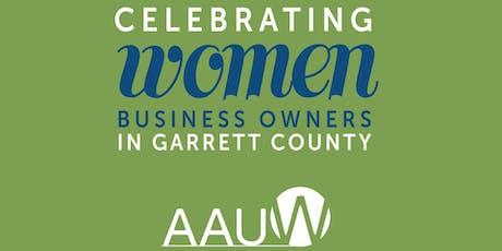 Reception to Celebrate Women Business Owners in Garrett County tickets