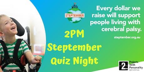 2PM Steptember Quiz Night tickets