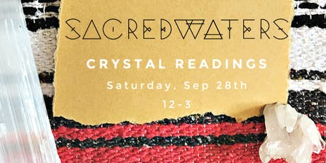 Crystal Readings at SacredWaters tickets