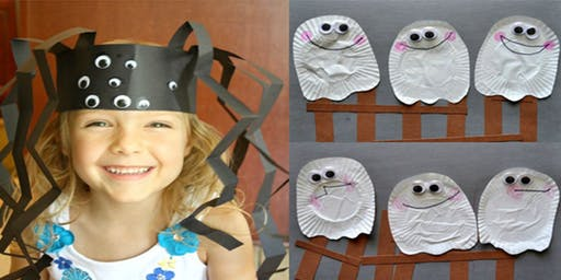 Spider and ghost craft (Gulgong Library, ages 3-5)