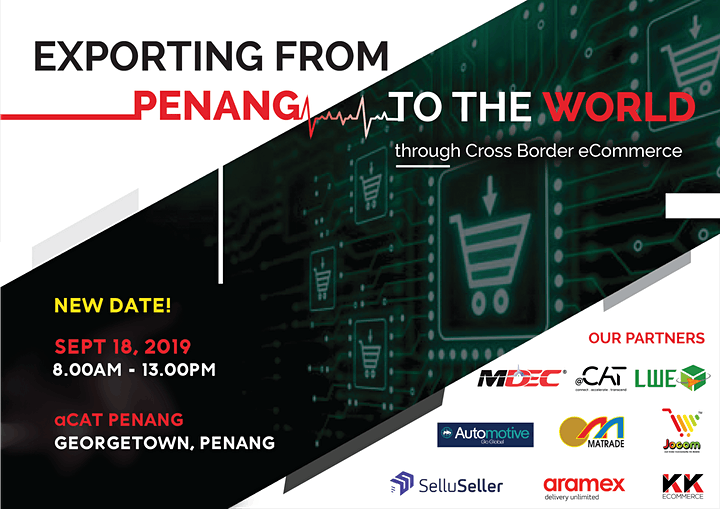 Exporting From Penang to the World ! through Cross Border eCommerce. image