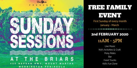 Sunday Sessions at the Briars - February 2nd 2020 tickets