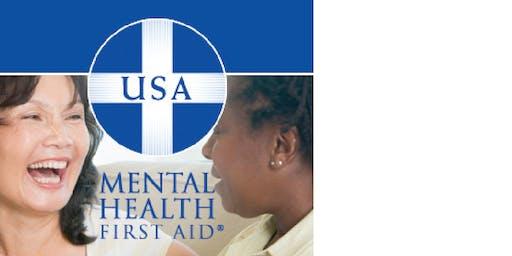 Mental Health First Aid USA