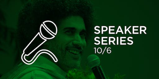 Speaker Series with Hisham Mahmoud