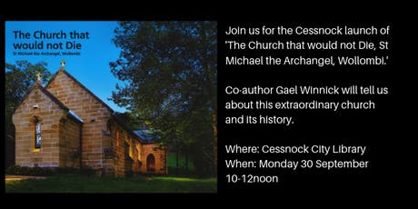 The Church that would not Die:  St Michael the Archangel, Wollombi tickets