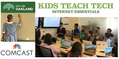 Kids Teach Tech Free Coding Classes for Kids - Scratch Programming - September 21, 2019