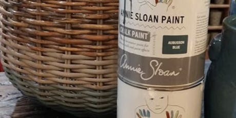 DIY: Ombre Painted Basket tickets