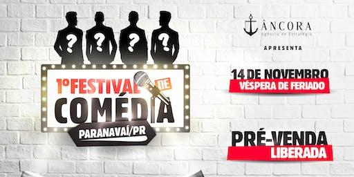 1º Festival de Comédia - Paranavaí