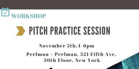 NAVIGATING IMPACT – PITCH PRACTICE SESSION tickets