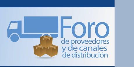 IV FORO DE PROVEEDORES Y CANALES DE DISTRIBUCIÓN entradas