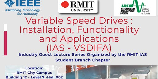 Variable Speed Drives : Installation, Functionality and Applications   (IAS - VSDIFA)