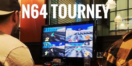 Nintendo 64 Tournament Night tickets