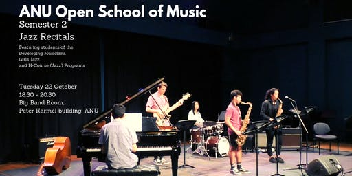 Semester 2 Jazz Ensemble Recitals
