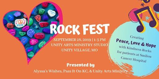 Rock Fest: Kindness Rock Event