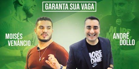 Money Mind7 Finanças & Propósito em Piracicaba com André Dollo e Moisés Venâncio ingressos