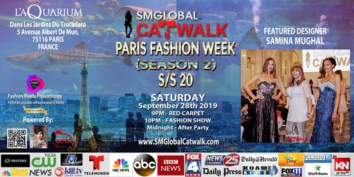 SMGlobal Catwalk - PARIS FASHION WEEK - Sept 28th 2019
