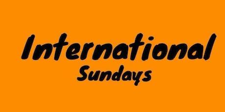 International Sunday tickets