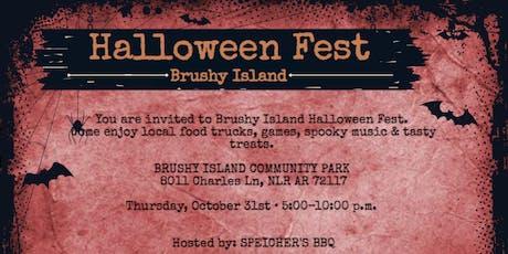 Brushy Island Halloween Fest tickets