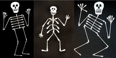 Skeleton craft (Kandos Library, ages 6-8)