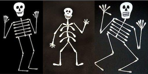 Skeleton craft (Kandos Library, ages 6-8)