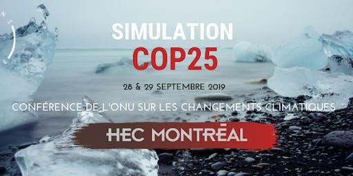 Simulation COP25