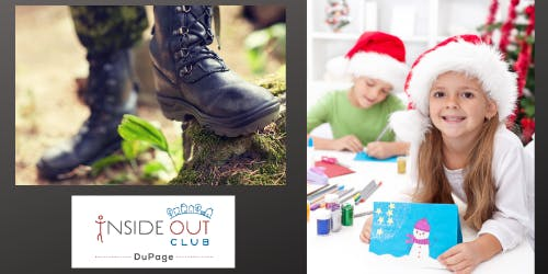 Holiday Cards for Troops Overseas and Boot Camp Event