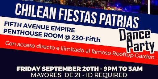Chilean Fiestas Patrias Dance Party